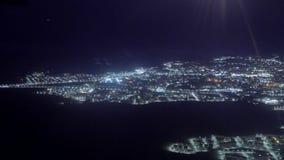 Vista dell'Egitto dall'altezza archivi video