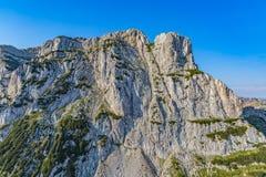 Vista dell'elicottero del canyon di Cesalpina Fotografie Stock Libere da Diritti