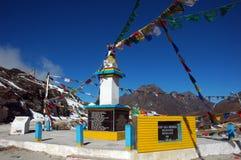 Vista dell'entrata a Tawang-Arunachal Pradesh. Fotografia Stock Libera da Diritti