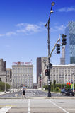 Vista dell'hotel del congresso Immagine Stock Libera da Diritti