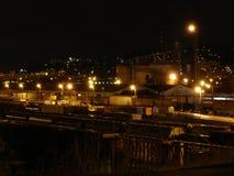 Vista 2005 dell'iarda del nord del treno di Portland fotografie stock libere da diritti