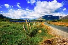 Vista dell'Irlanda Fotografie Stock Libere da Diritti