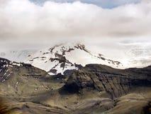 Vista dell'Islanda del ghiacciaio 2017 di Skaftafell Immagini Stock Libere da Diritti