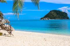 Vista dell'isola Fotografie Stock Libere da Diritti