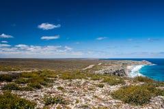 Vista dell'isola del canguro fotografia stock libera da diritti