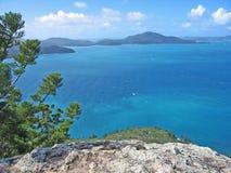 Vista dell'isola di Hamolton Fotografia Stock