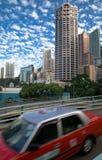 Vista dell'isola di Hong Kong Immagini Stock Libere da Diritti