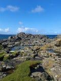 Vista dell'isola di Rathlin Fotografia Stock Libera da Diritti