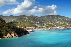 Vista dell'isola di Thomas santo, USVI Fotografia Stock