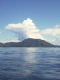 Vista dell'isola in Grecia Immagine Stock Libera da Diritti