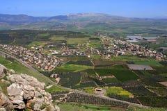Vista dell'Israele Immagine Stock Libera da Diritti