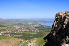 Vista dell'Israele fotografie stock