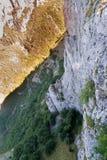 Vista dell'occhio di Eagle Immagine Stock Libera da Diritti