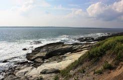 Vista dell'oceano Fotografia Stock Libera da Diritti