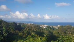 Vista dell'Oceano Atlantico Fotografie Stock Libere da Diritti