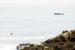Vista dell'oceano dall'azionamento di Nek del Kloof Immagini Stock