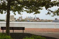 Vista dell'orizzonte di Filadelfia fotografie stock libere da diritti