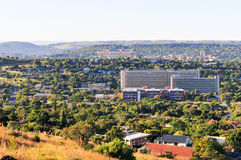 Vista dell'orizzonte di Pretoria Fotografia Stock Libera da Diritti