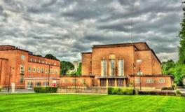 Vista dell'università della regina a Belfast fotografie stock libere da diritti