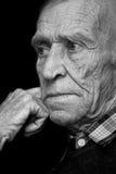 Vista dell'uomo anziano Fotografia Stock
