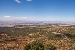 Vista dell'Utah: Parco nazionale 1 di Canyonlands immagine stock