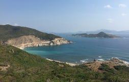 Vista della baia di Nha Trang, Vietnam Immagine Stock