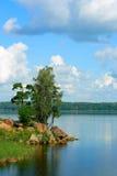 Vista della baia di Vyborg Fotografie Stock Libere da Diritti