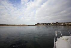 Vista della barca Immagine Stock
