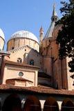 Vista della basilica dal ¹ del pià del convento grande della basilica di St Anthony a Padova nel Veneto (Italia) Fotografia Stock