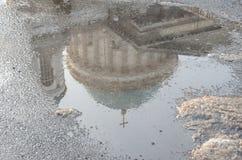 Vista della basilica in Esztergom, Ungheria Fotografie Stock Libere da Diritti