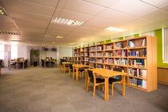 Vista della biblioteca Fotografia Stock