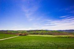 Vista della campagna italiana Fotografia Stock