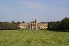 Vista della casa di campagna inglese Fotografie Stock