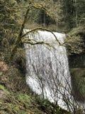 Vista della cascata immagine stock