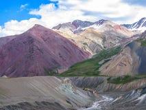 Vista della catena montuosa Immagini Stock