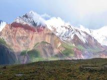Vista della catena montuosa Fotografia Stock Libera da Diritti