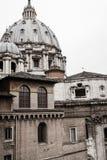 Vista della cattedrale di Città del Vaticano dalla parte posteriore Fotografia Stock Libera da Diritti