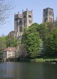 Vista della cattedrale di Durham Fotografia Stock