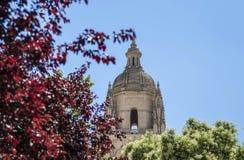 Vista della cattedrale di Segovia Immagini Stock Libere da Diritti