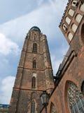 Vista della cattedrale di Wroclaw Fotografie Stock