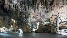 Vista della caverna, Nerja (Spagna) Fotografia Stock Libera da Diritti