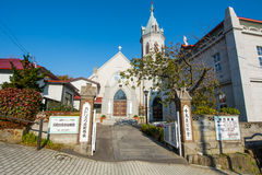 Vista della chiesa Fotografia Stock Libera da Diritti
