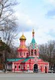 Vista della chiesa Immagine Stock