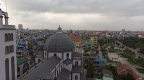 Vista della chiesa Belhi al pomeriggio fotografia stock libera da diritti
