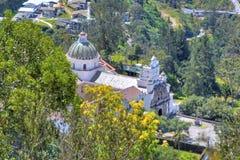 Vista della chiesa di Guapulo Immagine Stock Libera da Diritti