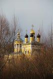 Vista della chiesa di San Nicola (Nikolo-Naberezhnaya) La Russia Immagini Stock Libere da Diritti