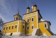 Vista della chiesa di San Nicola (Nikolo-Naberezhnaya) La Russia Immagine Stock Libera da Diritti