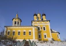 Vista della chiesa di San Nicola (Nikolo-Naberezhnaya) La Russia Immagine Stock