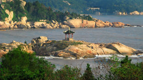 Vista della Cina Fotografie Stock