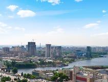 Vista della città Fotografie Stock